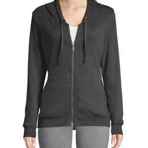 NWT Ugg grey knitted zip up hoodie jacket Size XS